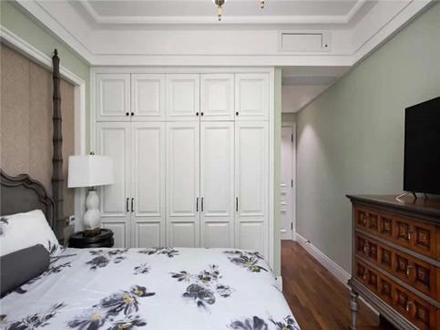 韩式田园风格卧室实木衣柜