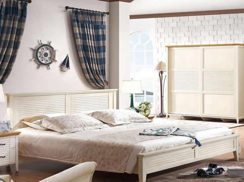 地中海风格卧室实木定制