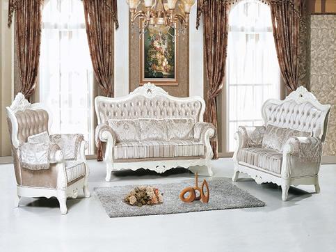 欧式古典实木家具沙发定制