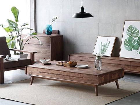 现代简约风格实木家具定制
