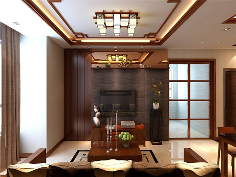 中式混搭实木家具定制