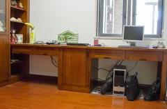 简约实木书桌_中式实木书桌