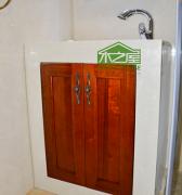 卫生间洗手台_韩式田园系列洗手台