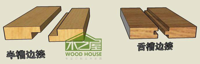 实木家具中常见榫卯结构示例